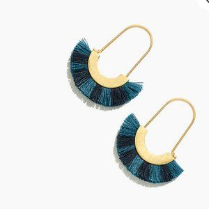NWT Madewell Arc Wire Fringe Earrings